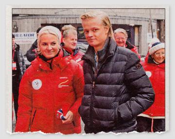 Foto von Mette-Marit mit ihrem Sohn Marius Borg Høiby.