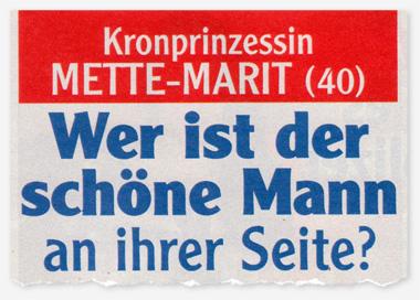 Kronprinzessin Mette-Marit (40) - Wer ist der schöne Mann an ihrer Seite?