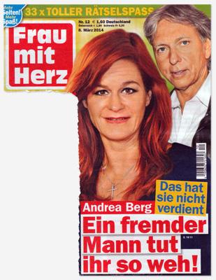 Andrea Berg - Das hat sie nicht verdient - Ein fremder Mann tut ihr so weh!