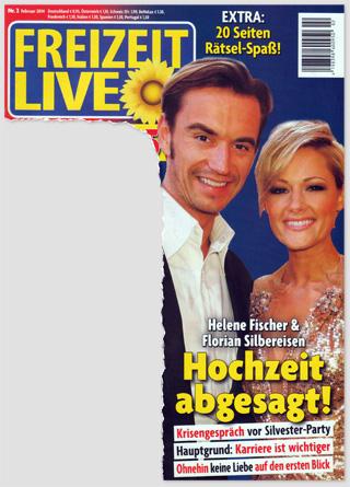 Helene Fischer & Florian Silbereisen - Hochzeit abgesagt! Krisengespräch vor Silvester-Party - Hauptgrund: Karriere ist wichtiger - Ohnehin keine Liebe auf den ersten Blick