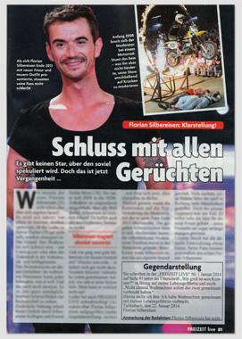 Florian Silbereisen exklusiv - Schluss mit allen Gerüchten - Mit wem er Weihnachten feierte - Er ist nicht schwul - Warum er eine neue Frisur hat