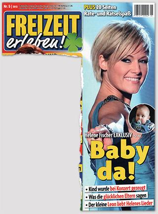 Helene Fischer EXKLUSIV - Baby da! - Kind wurde bei Konzert gezeugt - Was die glücklichen Eltern sagen - Der kleine Leon liebt Helenes Lieder