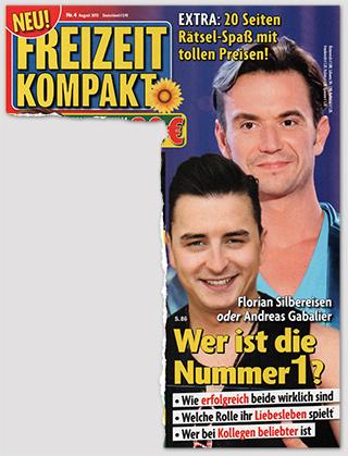 Florian Silbereisen oder Andreas Gabalier - Wer ist die Nummer 1? - Wie erfolgreich beide wirklich sind - Welche Rolle ihr Liebesleben spielt - Wer bei Kollegen beliebter ist
