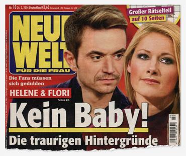 Die Fans müssen sich gedulden - Helene & Flori - Kein Baby! Die traurigen Hintergründe