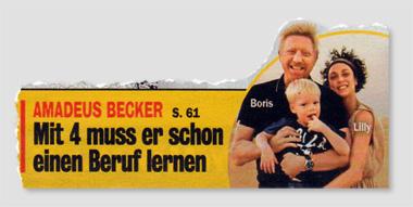 Amadeus Becker - Mit 4 muss er schon einen Beruf lernen