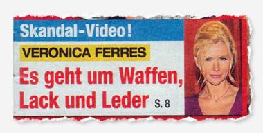 Skandal-Video! Veronica Ferres - Es geht um Waffen, Lack und Leder