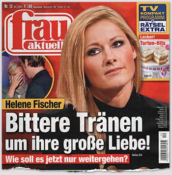 Helene Fischer - Bittere Tränen um ihre große Liebe - Wie soll es jetzt nur weitergehen?