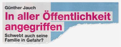 Günther Jauch - In aller Öffentlichkeit angegriffen - Schwebt auch seine Familie in Gefahr?