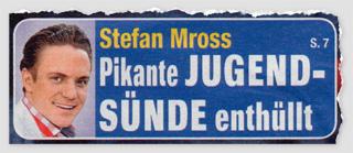 Stefan Mross - Pikante Jugend-Sünde enthüllt