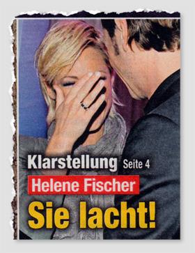 Klarstellung - Helene Fischer - Sie lacht!