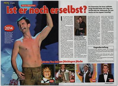 Florian Silbereisen - Ist er noch er selbst [Die Gegendarstellung ist in den Artikel eingebettet.]