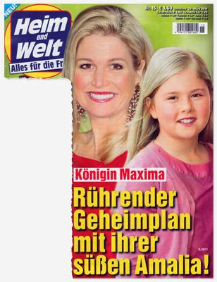 Königin Maxima - Rührender Geheimplan mit ihrer süßen Amalia!