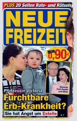 Prinzessin Victoria - Furchtbare Erb-Krankheit? Sie hat Angst um Estelle