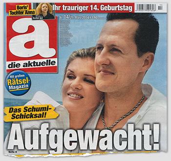 Das Schumi-Schicksal - Aufgewacht!