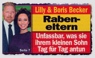 Lilly & Boris Becker - Rabeneltern - Unfassbar, was sie ihrem kleinen Sohn Tag für Tag antun