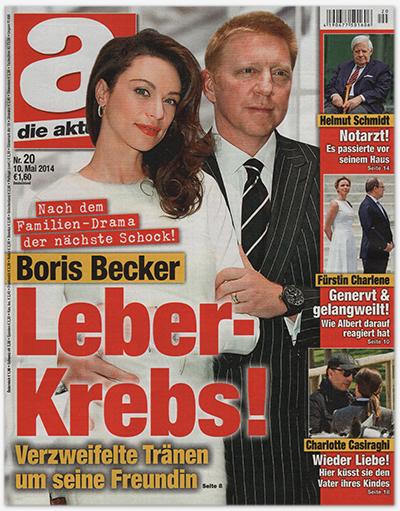 Nach dem Familien-Drama der nächste Schock! - Boris Becker - Leber-Krebs! - Verzweifelte Tränen ums eine Freundin --- Helmut Schmidt - Notarzt! Es passierte vor seinem Haus --- Fürstin Charlene - Genervt & gelangweilt - Wie Albert drauf reagiert hat --- Charlotte Casiraghi - Wieder Liebe! Hier küsst sie den Vater ihres Kindes