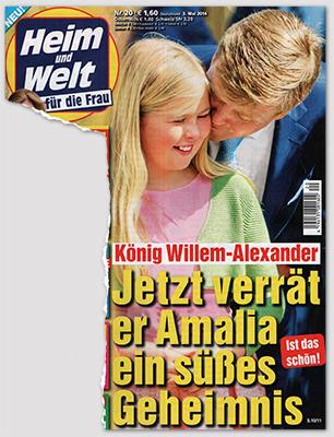 König Willem-Alexander - Jetzt verrät er Amalia ein süßes Geheimnis - Ist das schön!