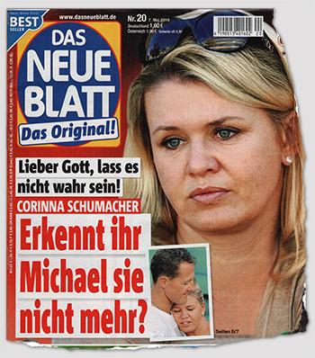 Lieber Gott, lass es nicht wahr sein! - Corinna Schumacher - Erkennt ihr Michael sie nicht mehr?