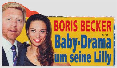 Boris Becker - Baby-Drama um seine Lilly