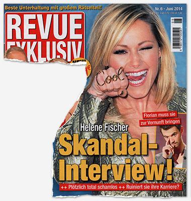 Helene Fischer - Skandal-Interview! - Florian muss sie zur Vernunft bringen - Plötzlich total schamlos - Ruiniert sie ihre Karriere?