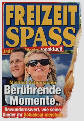 Michael Schumacher - Berührende Momente - Bewundernswert, wie seine Kinder ihr Schicksal meistern