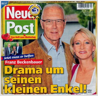 Jetzt muss er helfen - Franz Beckenbauer - Drama um seinen kleinen Enkel!