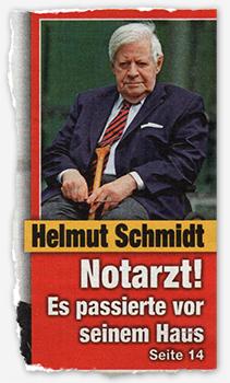 Helmut Schmidt - Norarzt! - Es passierte vor seinem Haus
