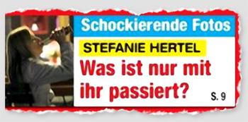 Schockierende Fotos - Stefanie Hertel - Was ist nur mit ihr passiert?