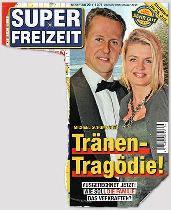 Michael Schumacher - Tränen-Tragödie! - Ausgerechnet jetzt! Wie soll die Familie das verkraften?