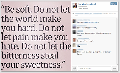 """""""Be soft. Do not let the world make you hard. Do not let pain make you hate. Do not let the bitterness steal your sweetness."""""""