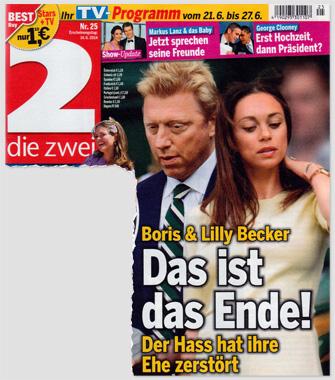 Boris & Lilly Becker - Das ist das Ende! Der Hasst hat ihre Ehe zerstört