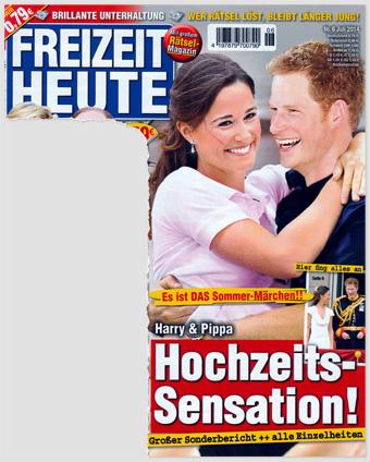 Es ist DAS Sommer-Märchen!! Harry & Pippa - Hochzeits-Sensation! Großer Sonderbericht - alle Einzelheiten