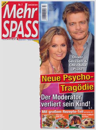 Oliver Geissen & Christina Plate - Neue Psycho-Tragödie - Der Moderator verliert sein Kind!