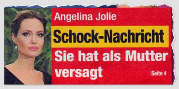 Angelina Jolie - Schock-Nachricht - Sie hat als Mutter versagt