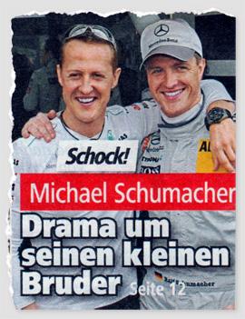 Schock! Michael Schumacher - Drama um seinen kleinen Bruder