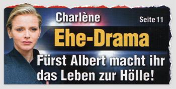Charlène - Ehe-Drama - Fürst Albert macht ihr das Leben zur Hölle!