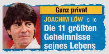 Ganz privat - Joachim Löw - Die 11 größten Geheimnisse seines Lebens