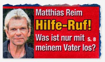 Matthias Reim - Hilfe-Ruf! Was ist nur mit meinem Vater los?