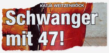 Katja Weitzenböck - Schwanger mit 47!