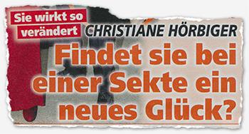 Sie wirkt so verändert - Christiane Hörbiger - Findet sie bei einer Sekte ein neues Glück?