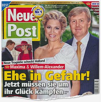 Neue Tragödie schockt Holland - Maxima & Willem-Alexander - Ehe in Gefahr! - Jetzt müssen sie um ihr Glück kämpfen