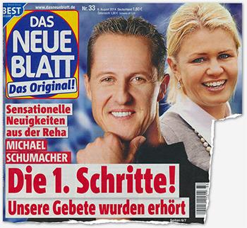 Sensationelle Neuigkeiten aus der Reha - Michael Schumacher - Die 1. Schritte! Unsere Gebete wurden erhört