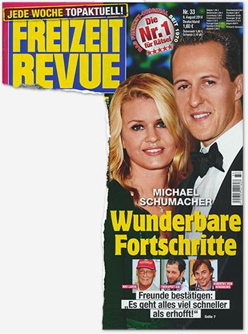 """Michael Schumacher - Wunderbare Fortschritte - Freudne bestätigen: """"Es geht alles viel schneller als erhofft!"""""""