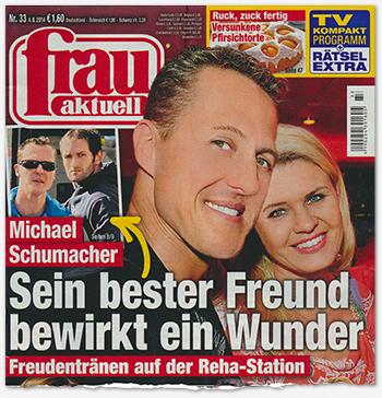 Michael Schumacher - Sein bester Freund bewirkt ein Wunder - Freudentränen auf der Reha-Station