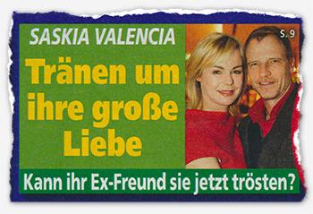 Saskia Valencia - Tränen um ihre große Liebe - Kann ihr Ex-Freund sie jetzt trösten?