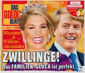 Maxma & Willem-Alexander - Zwillinge! Das Familie-Glück ist perfekt