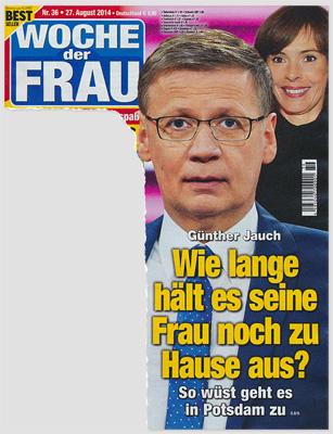 Günther Jauch - Wie lange hält es seine Frau noch zu Hause aus? So wüst geht es in Potsdam zu
