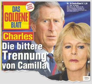 Charles - Die bittere Trennung von Camilla
