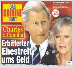 Charles & Camilla - Erbitterter Ehestreit ums Geld
