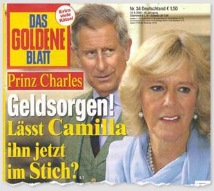Prinz Charles - Geldsorgen! Lässt Camilla ihn jetzt im Stich?